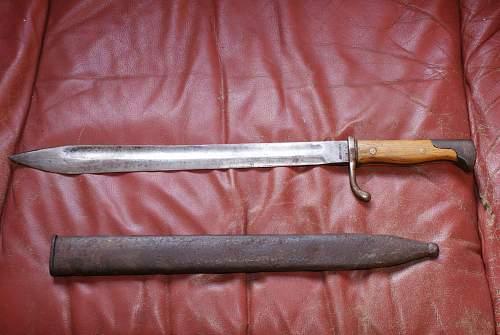 """Butcher"" bayonet reissue?.."