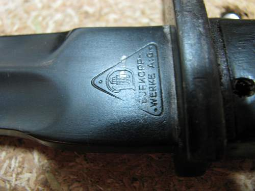 My recent German bayonet finds.