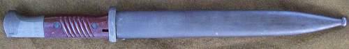 sgx44 'Grey Ghost' 98k Bayonet
