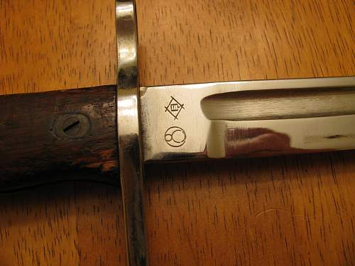 Japanese dress bayonet?