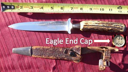 Anton Wingen Made German Trench Knife