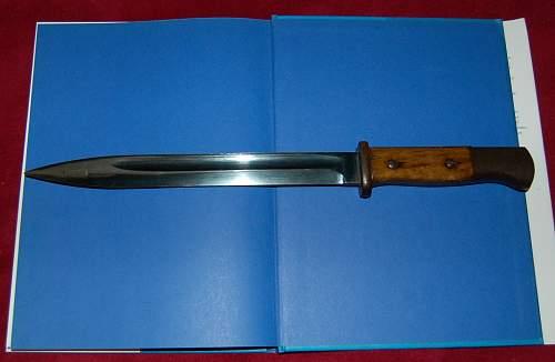 Mystery k98 bayonet