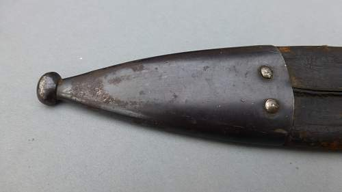Rare Spanish M1907 Artillery Bolo trench Knife