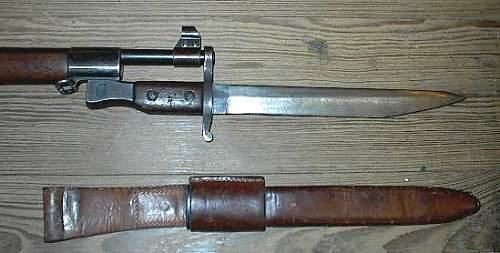 Unknown Bayonet