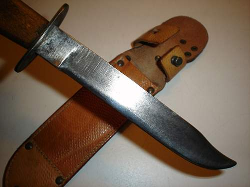 "ČSSR fighting knife ""V07"""