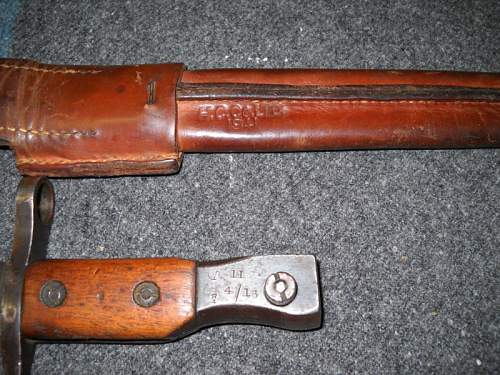Unknown Bayonet