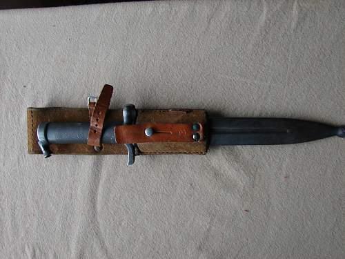 my m96 bayonet
