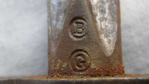 WWI French Bayonet Markings?