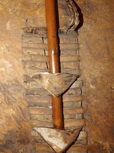 Zulu Axe Stabbing weapon