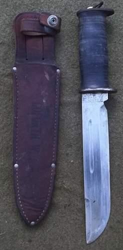 German Bayonets and USA fighting Knife
