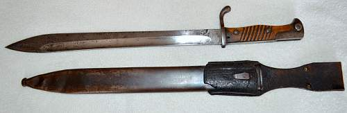 Possible German Navy Issue Butcher Blade