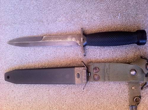 Please help identify, possibly german combat knife