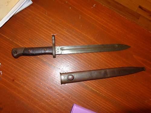 WW1  knife?