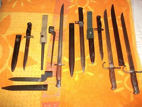 8 New Bayonets