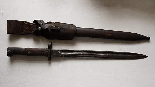 Yugoslavian M24 bayonet