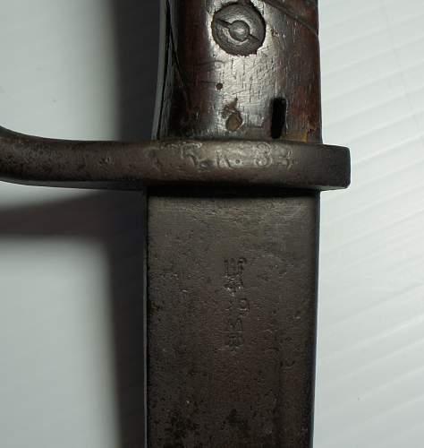 German Bayonet 1871/98