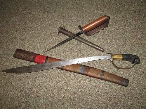 Estate sale finds 1917 Trench knife/Sword