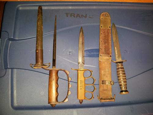 Rare 1917 Trench knife variant