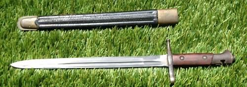 Identify Bayonet - Possibly Italian M1891/TS Transverse Bayonet