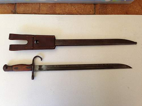 Japanese Bayonet for review