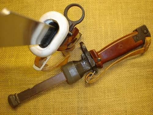 "polish trainings -""bayonet"" ""M 1985"""