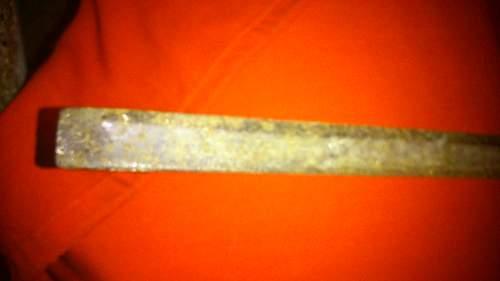 Relic sword, need ID'ing
