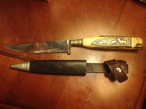 First World War German Knife - Need more info