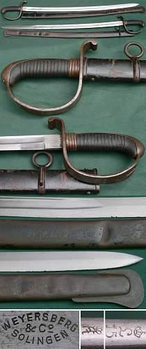 Pre - WW1 Bavarian Sabre