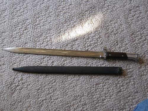 One more bayonet for you.