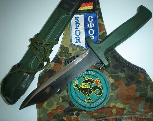 Eickhorn ACK in the Bundeswehr