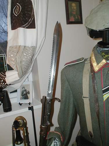 German sawback m98/05 bayonet