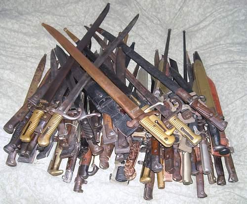 Pile-O-Bayonets