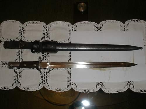 Unknown bayonet, any help appreciated