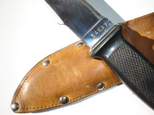 (hungarian?) cord cutter knife?