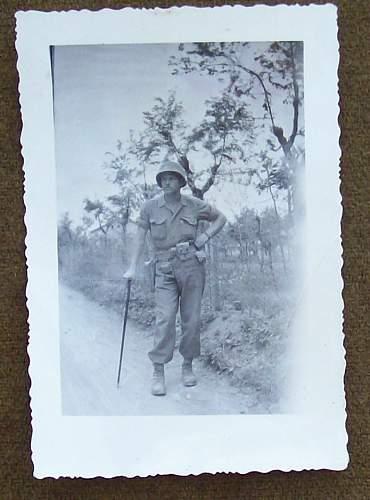 Sword Cane  Belgium 1945