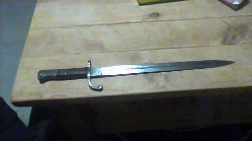 Bayonet identification