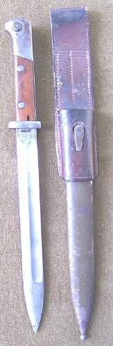 Polish wz24 Bayonet