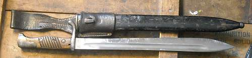 A couple of Butcher bayonets