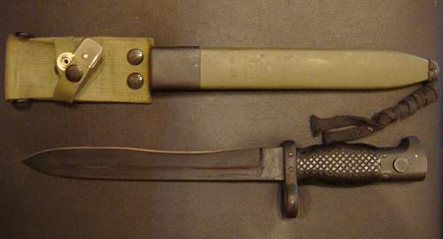 Found an old Bayonet, need help identifying please