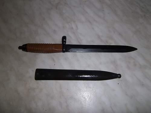 iranian g3 bayonet
