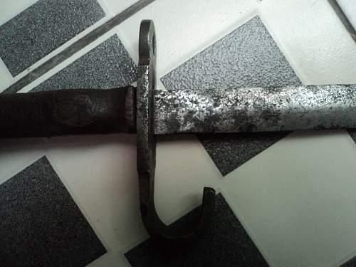 Odd Looking KNIL Mannlicher Bayonet