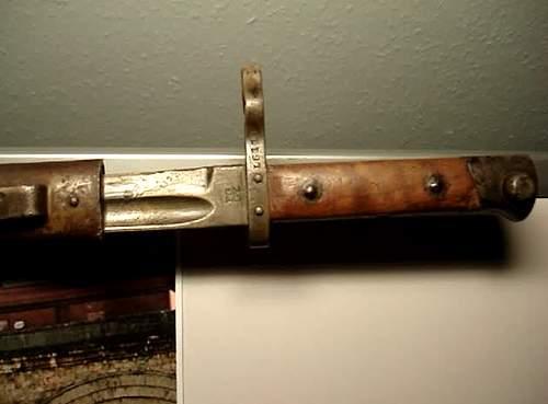 M95 bayonet?