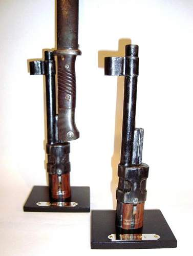 nice Support display stand for bayonets