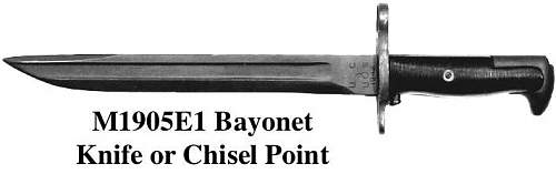 Cut Down 1907 Bayonet