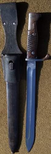 German 98/05 Bayonet Luftwaffe Issue
