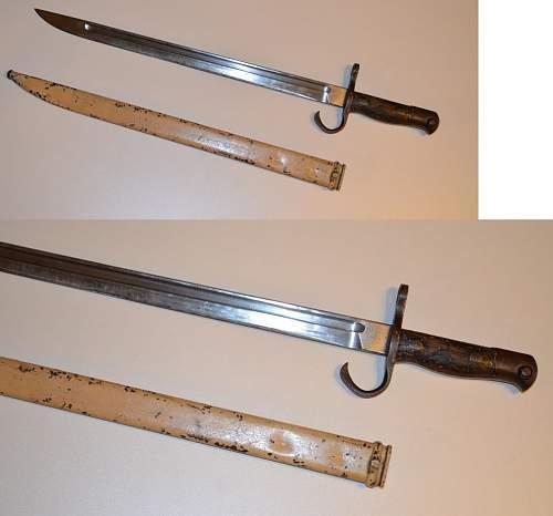 Japanese camo bayonet.
