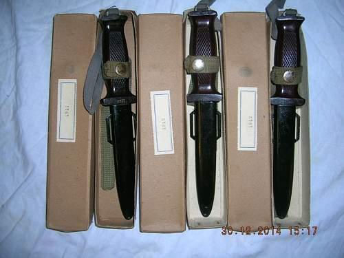 """NVA """"Kampfmesser 66"""" , (2nd pattern)"""