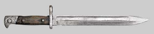 Doubt about my grandfather's bayonet or knife