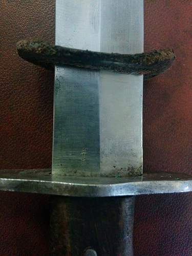 Doubt about ww1 german trench knife (Hugo Keller)