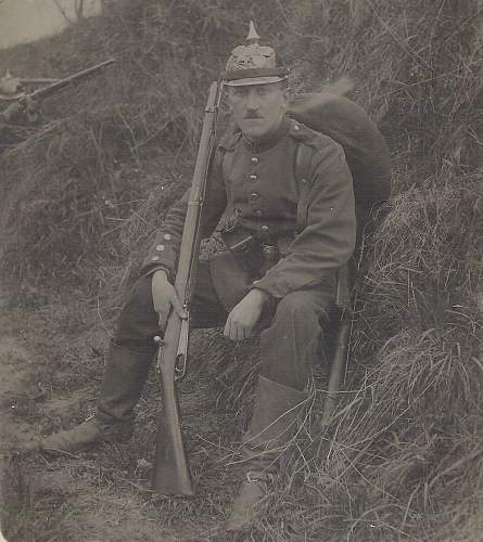 Chassepot bayonet Model 1866 came to be used by the French army in WW1???